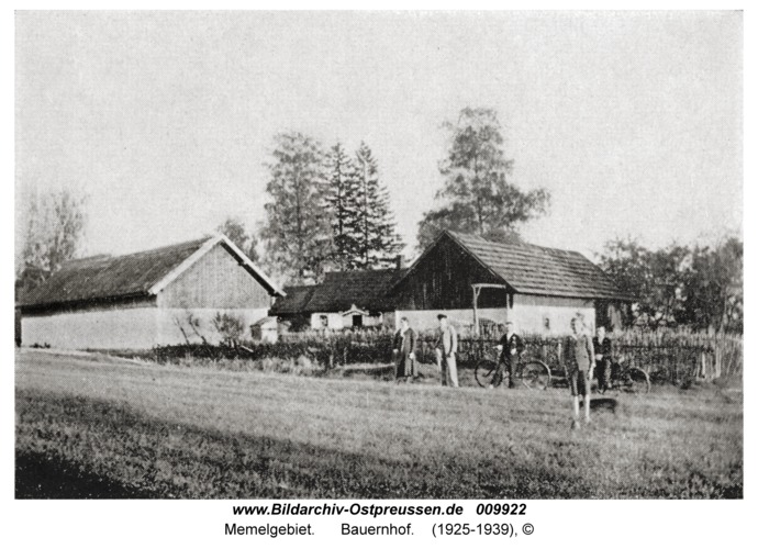 Memelgebiet, Bauernhof