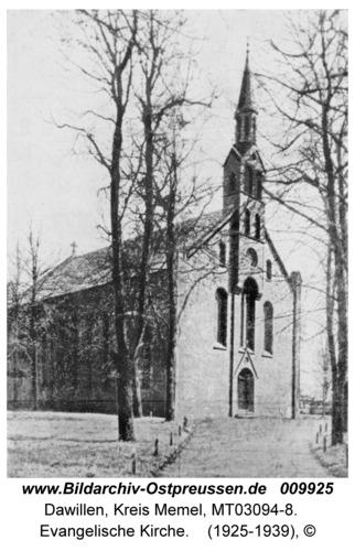 Dawillen, Evangelische Kirche