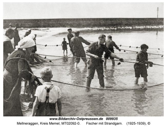 Mellneraggen, Fischer mit Strandgarn