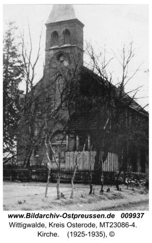 Wittigwalde, Kirche