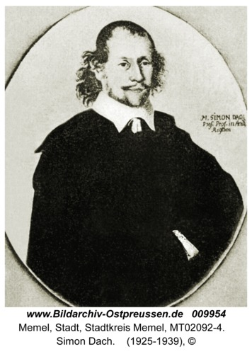 Memel, Simon Dach