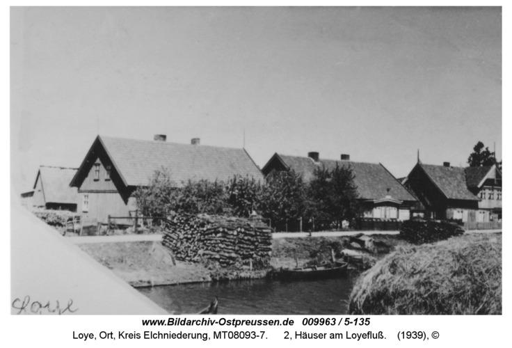 Loye, 2, Häuser am Loyefluß