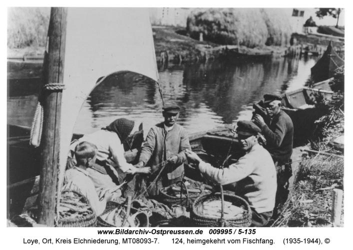 Loye, 124, heimgekehrt vom Fischfang