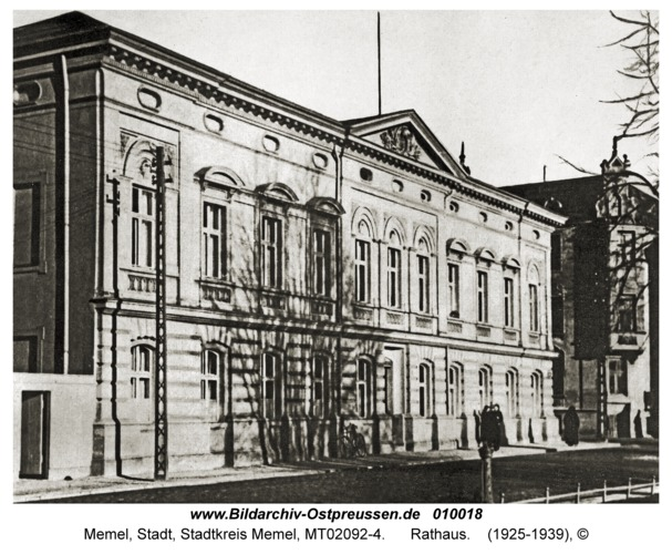 Memel, Rathaus