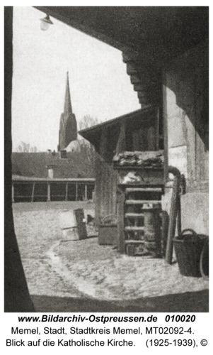 Memel, Blick auf die Katholische Kirche