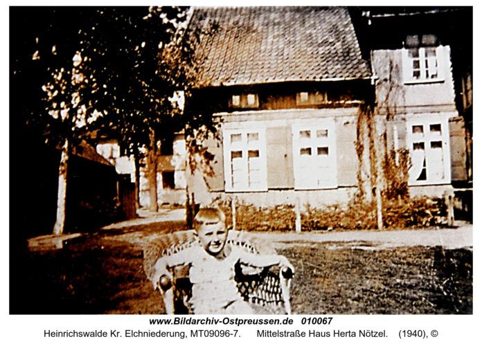 Heinrichswalde, Mittelstraße Haus Herta Nötzel