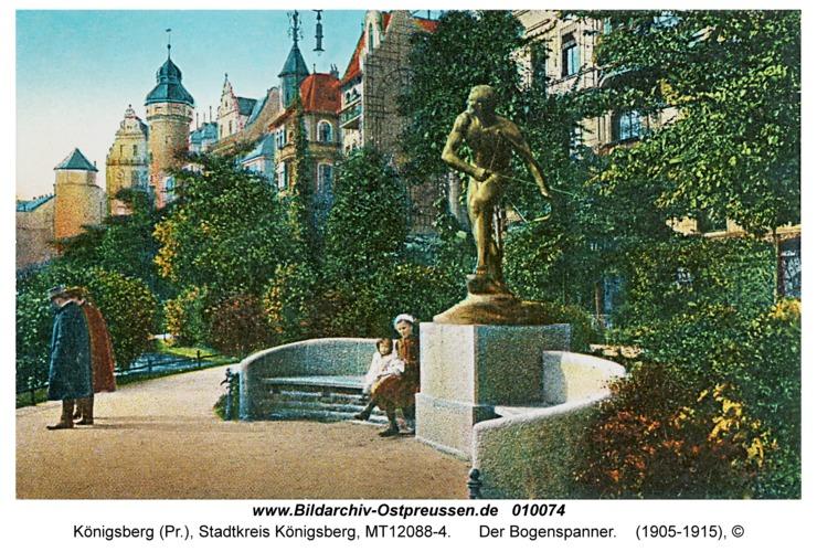Königsberg, Der Bogenspanner