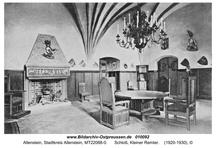 Allenstein, Schloß, Kleiner Remter