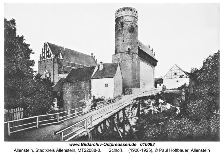Allenstein, Schloß