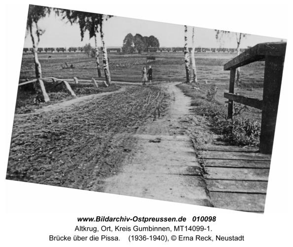 Altkrug, Brücke über die Pissa