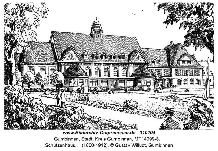 Gumbinnen, Schützenhaus