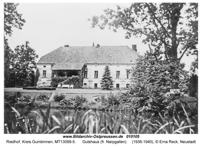 Riedhof, Gutshaus (fr. Narpgallen)