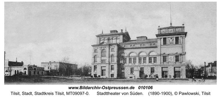 Tilsit, Stadttheater von Süden