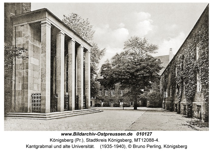 Königsberg, Kantgrabmal und alte Universität
