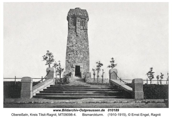 Obereißeln, Bismarckturm