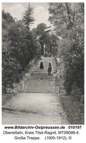 Obereißeln, Große Treppe