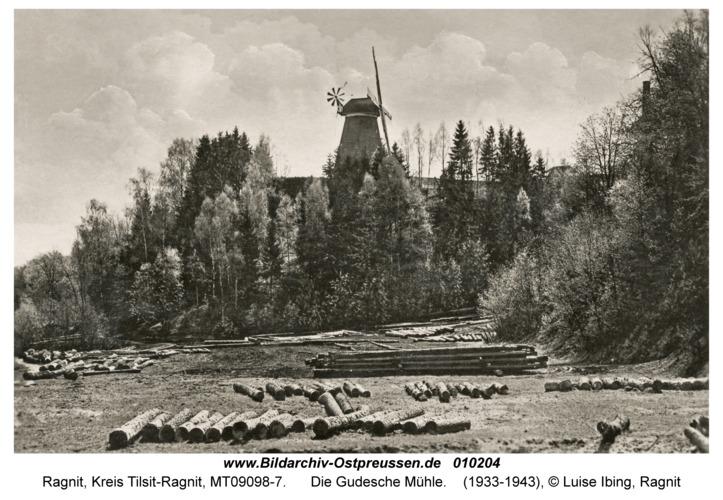 Ragnit, Die Gudesche Mühle