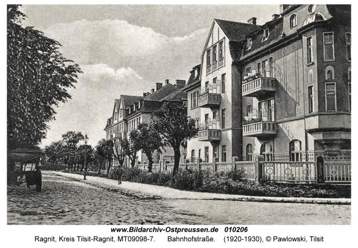Ragnit, Bahnhofstraße