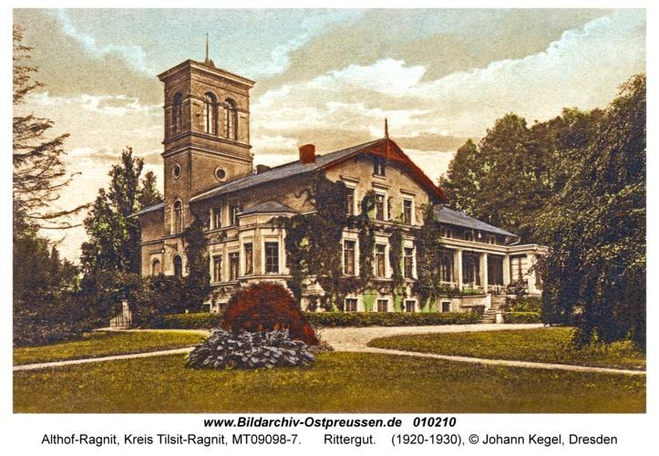 Althof-Ragnit, Rittergut