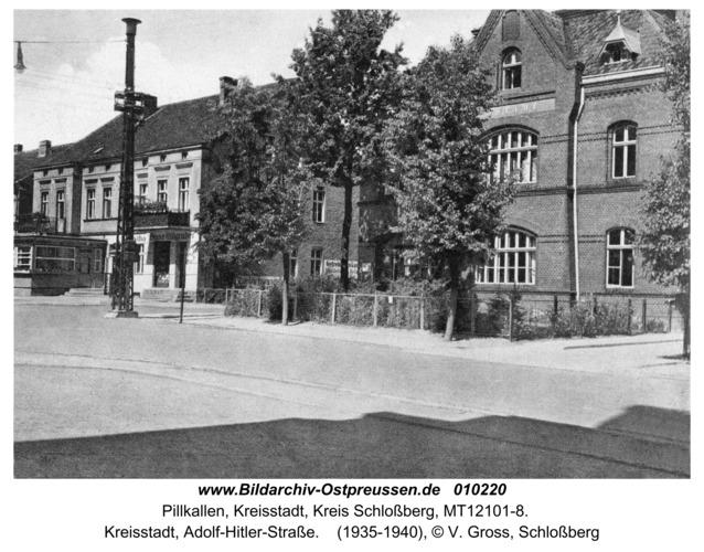 Schloßberg, Kreisstadt, Adolf-Hitler-Straße