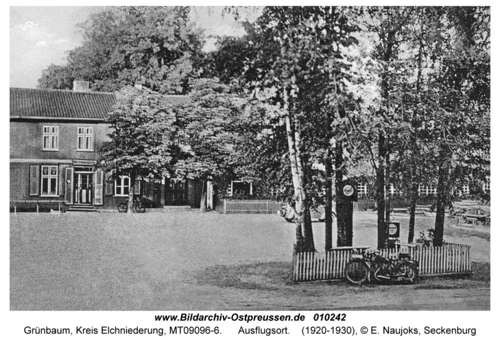 Grünbaum Kr. Elchniederung, Ausflugsort