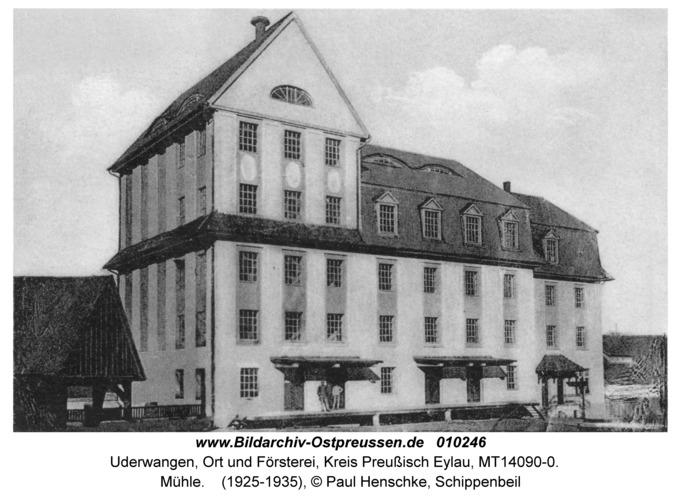 Uderwangen, Mühle