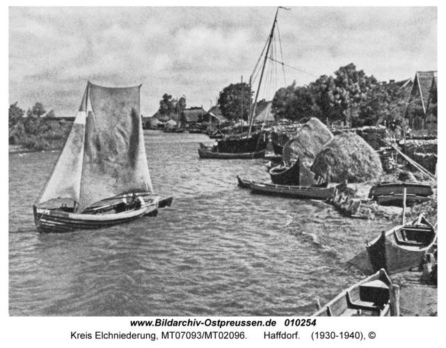 Kreis Elchniederung, Haffdorf