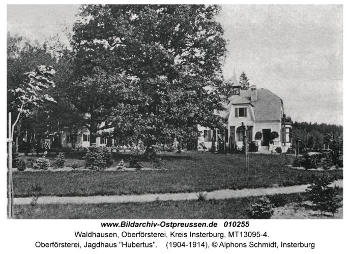 """Waldhausen Kr. Insterburg, Oberförsterei, Jagdhaus """"Hubertus"""""""