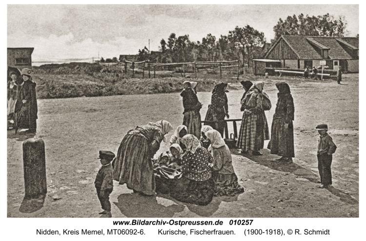 Nidden, Kurische, Fischerfrauen