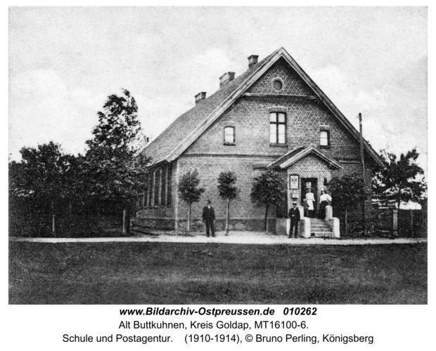 Alt Bodenhausen, Schule und Postagentur