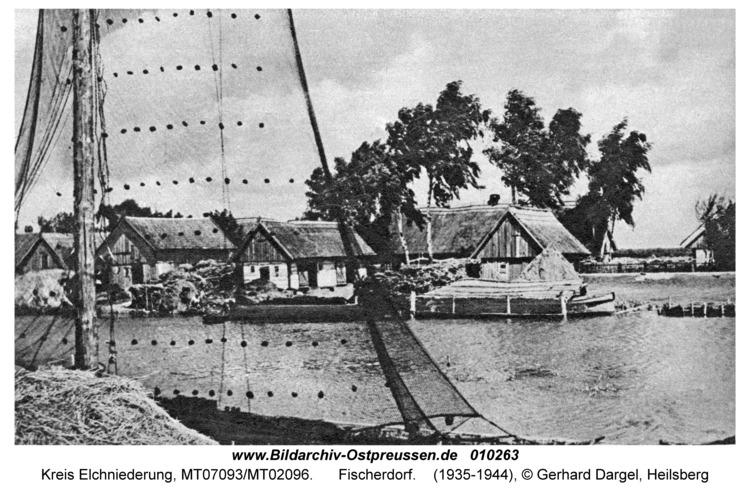 Kreis Elchniederung, Fischerdorf