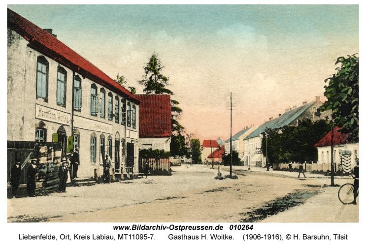 Liebenfelde, Gasthaus H. Woitke