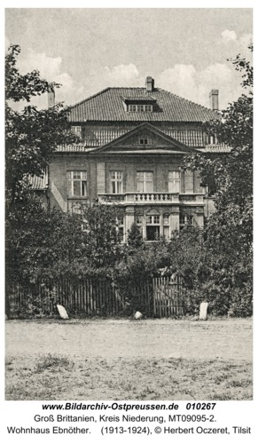 Groß Brittanien, Wohnhaus Ebnöther