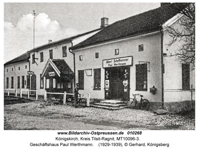 Königskirch, Geschäftshaus Paul Werthmann