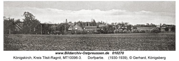 Königskirch, Dorfpartie