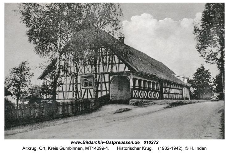 Altkrug, Historischer Krug