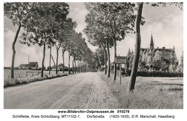 Schillfelde, Dorfstraße