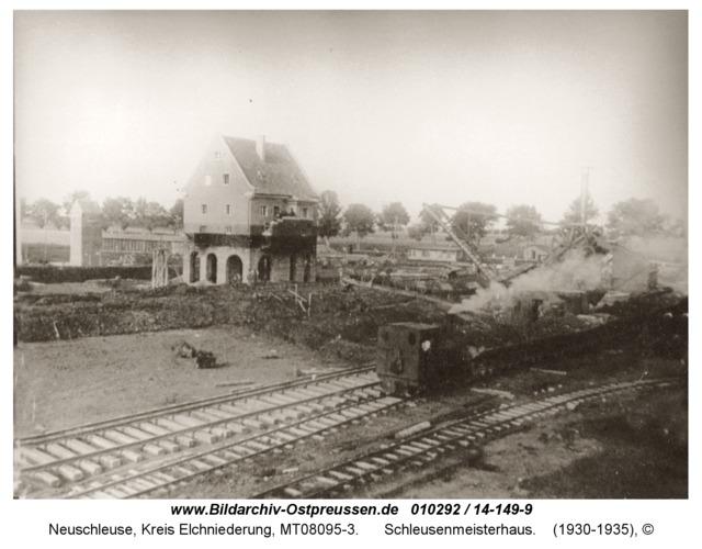Neuschleuse, Schleusenmeisterhaus