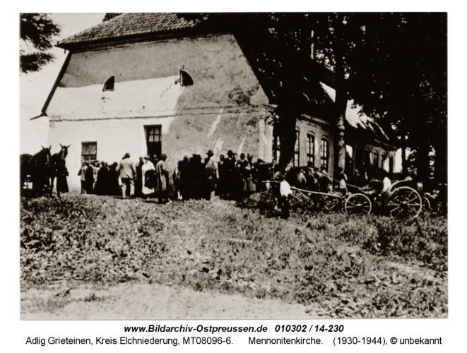 Adlig Grieteinen, Mennonitenkirche
