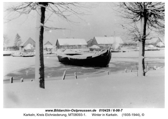 Karkeln, Winter in Karkeln