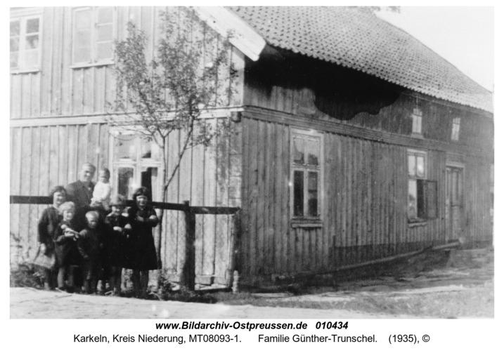 Karkeln, Familie Günther-Trunschel