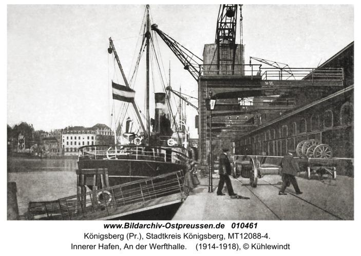 Königsberg, Innerer Hafen, An der Werfthalle