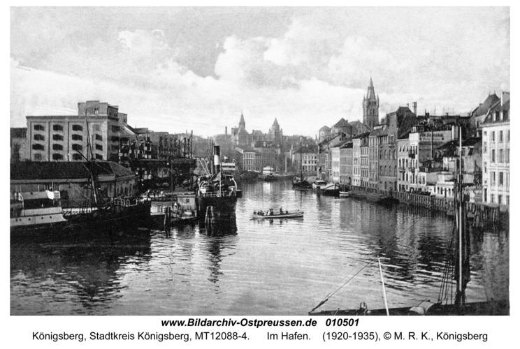 Königsberg, Im Hafen