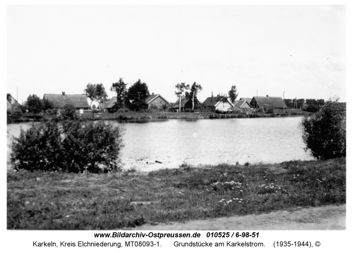 Karkeln, Grundstücke am Karkelstrom