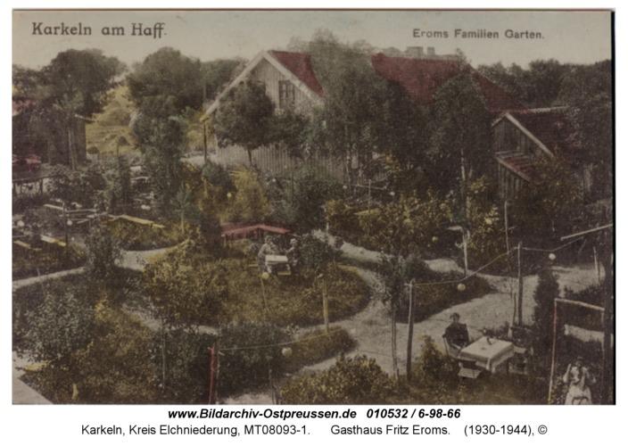 Karkeln, Gasthaus Fritz Eroms