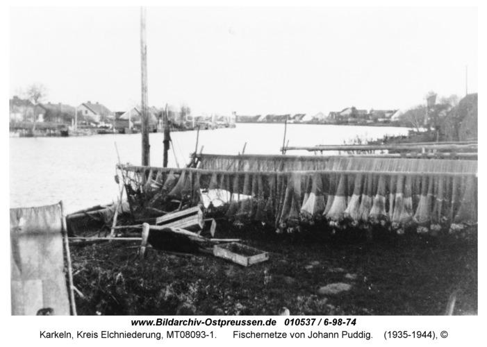 Karkeln, Fischernetze von Johann Puddig