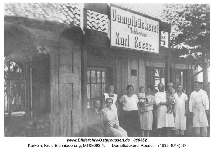 Karkeln, Dampfbäckerei Roese
