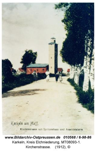 Karkeln, Kirchenstraße