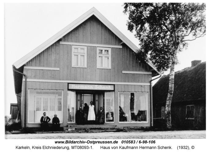 Karkeln, Haus von Kaufmann Hermann Schenk