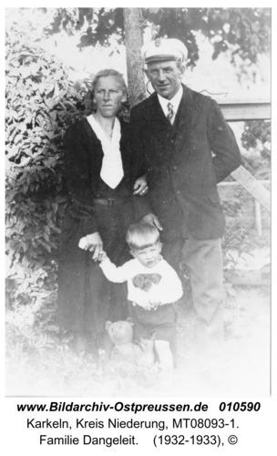 Karkeln, Familie Dangeleit